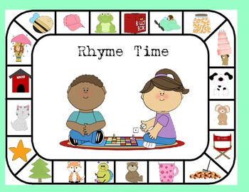 Rhyme Time- A Board Game
