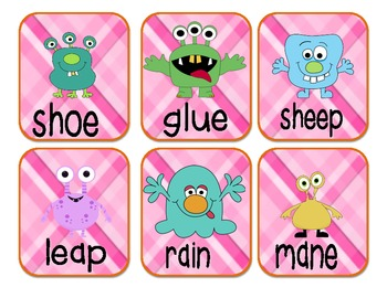 Rhyme Time! (A rhyming activity for all spelling patterns)