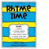 Rhyme Time Activity Pack