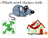 Rhyme Time Assessment of Rhyming words