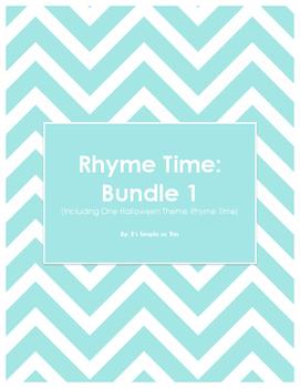 Rhyme Time: Bundle 1