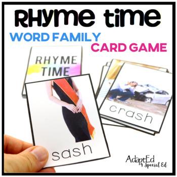 Rhyme Time Card Game