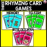 Rhyme-3 Rhyming Card Games in 1!