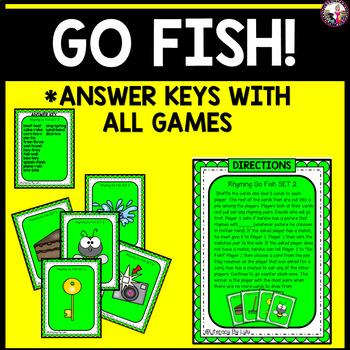 Rhyming Card Games