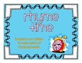 Rhyme Time Center