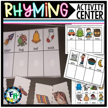 Rhyme Time Activity Center