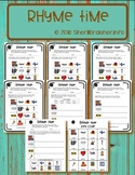 Rhyme Time | Differentiated Worksheets | Literacy