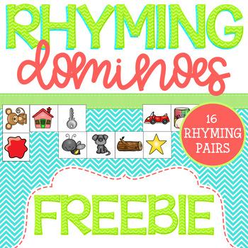 Rhyme Time Dominoes