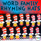 Rhyme Time Center Write and Wipe Word Family Hats Kinderga