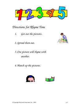 Rhyme Time (English and Spanish