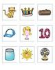 File Folder Game:  Rhyme Time for Kindergarten