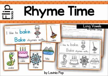 Rhyme Time - Flip Books {Long Vowels}