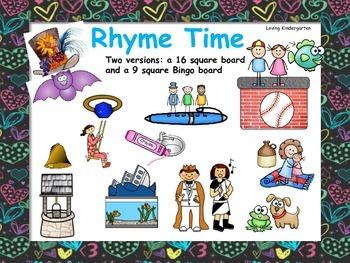 Rhyme Time Game