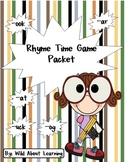 Rhyme Time Game Packet