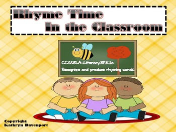 Rhyme Time In the Classroom