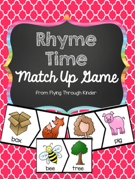 Rhyme Time Match Up Game