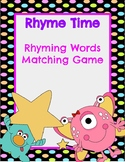 Rhyme Time Matching Game