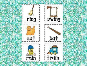 Rhyme Time Memory Game