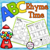 Rhyme Time NO PREP Printables