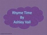 Rhyme Time: Nursery Rhyme Worksheets