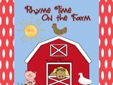 Rhyme Time On the Farm