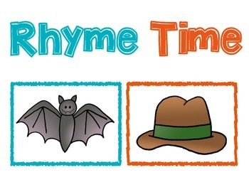 Rhyme Time Pocket Chart Activity