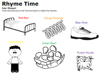 Rhyme Time Program- Group 2 Lessons