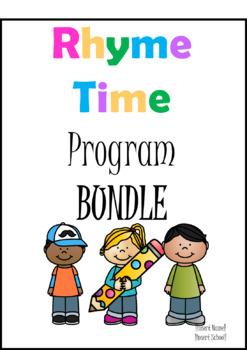 Rhyme Time Program- Growing Bundle