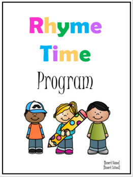 Rhyme Time Program- Intro, Group 1 Lessons