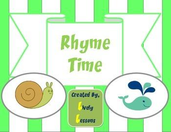 Rhyme Time:  Rhyming Literacy Center