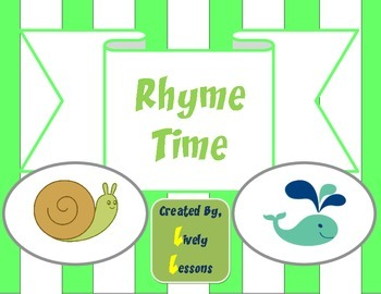 Rhyme Time:  Rhyming Literacy Center