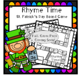 Rhyme Time St. Patrick's Day Board Game