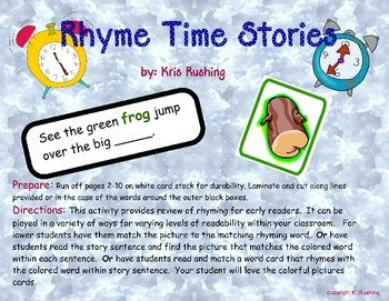Rhyme Time Stories