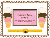 Rhyme Time Treats!