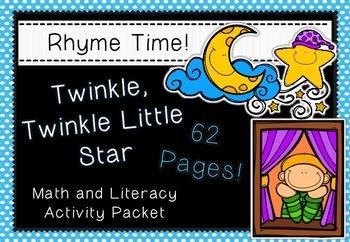 Rhyme Time - Twinkle, Twinkle - Nursery Rhyme Math & Liter