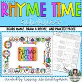 Rhyme Time - Unique Kindergarten Rhyming Activities