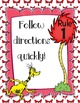 """""""Rhyme Time"""" WBT Rules Posters with Fun Whimsical Theme"""