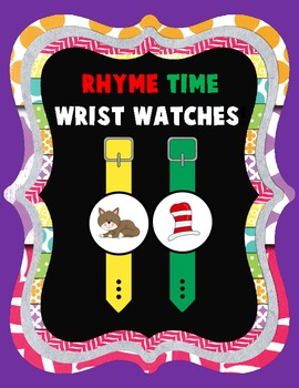 Rhyme Time Watches {CVC Rhymes}