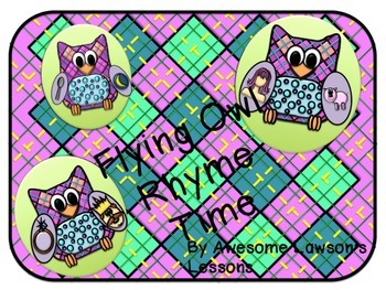 Rhyme Time With Flying Owls!