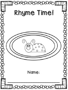Rhyme Time Word Book