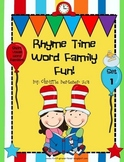 Rhyme Time Word Family Fun!