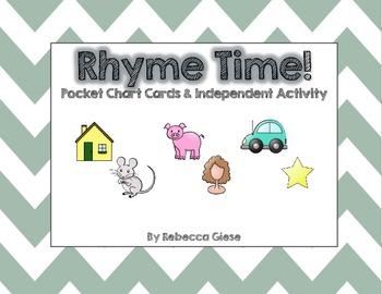 Rhyme Time {Word Work}