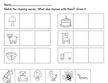 Rhyme Time {Word Work}