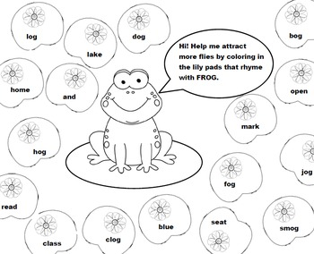 Worksheets - Rhyme Time