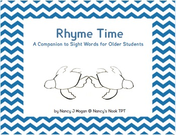 Rhyme Time for Older Students