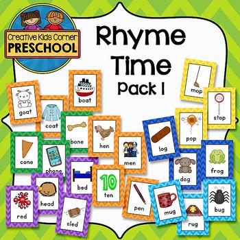 Rhyme Time pack 1