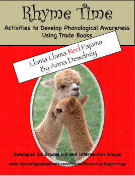"Rhyme Time with ""Llama Llama Red Pajama"" by Anne Dewdney"
