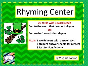 Rhyme Time with the Leprechauns