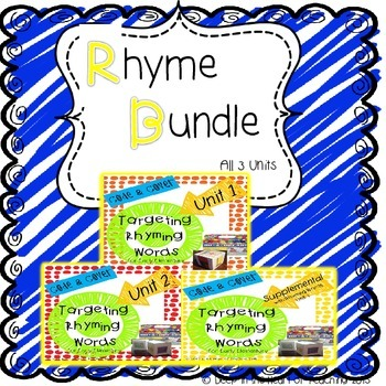 Rhyme Unit Bundle