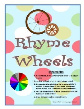 Rhyme Wheels